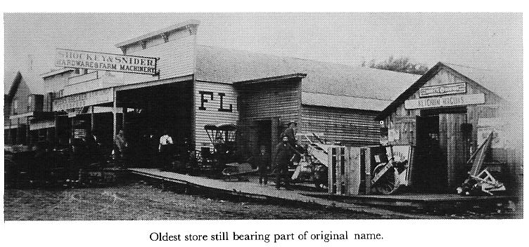 Abilene 1870s Oldest stores