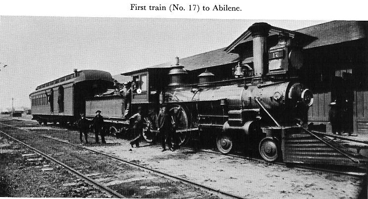 Abilene 1867 First Train.jpg